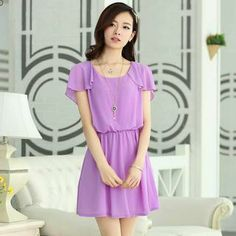 Buy 'Aierys – Flutter-Sleeve Gathered-Waist Dress' with Free International Shipping at YesStyle.com. Browse and shop for thousands of Asian fashion items from China and more!