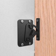 Color : Stainless steel, Size : Large MUMA Heavy Stainless Steel Padlock Hasp 90 Degree Right Angle Door Clasp Door Latch Door Lock For Push//Sliding//Barn Door
