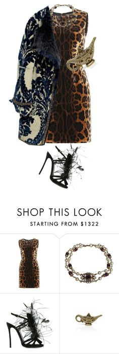 """""""Untitled #627"""" by likealamb ❤ liked on Polyvore featuring Dolce&Gabbana, Chanel, Dsquared2, Judith Leiber, women's clothing, women's fashion, women, female, woman and misses"""