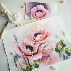 Watercolorist: @vishnyaobukhova #waterblog #акварель #aquarelle #painting…