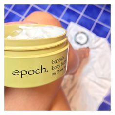 """I'm addicted to this """"Epoch Baobab Body Butter"""" 🍃🍃🍃 contains: fruit, and 🍃🍃🍃This has a smoothing and firming effekt to your skin and adds for extra protection of the skin🍃🍃🍃 DM ME FOR MORE INFORMATION! Body Butter, Shea Butter, Epoch, Baking Ingredients, Cookie Dough, Your Skin, Addiction, Photo And Video, Fruit"""