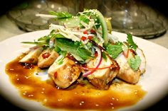 """I will admit when I posted a photo of this on Instagram as it was cooking, I entitled it """"Sticky"""" Soy & Chilli Chicken. Didn't quite go as planned but"""
