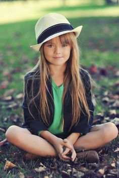 cute look for a little girl...