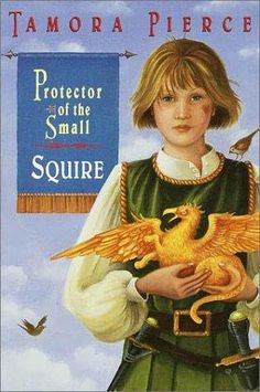 Tamora Pierce is an incredible fantasy fiction writer. This particular series helped me through me adolescence and has subsequently become one of my most favorite book series ever.    Protector of the Small series by Tamora Pierce