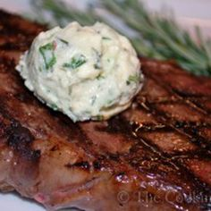 Rosemary Butter For Grilled Steaks
