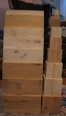 """Montessori at Home: """"Make Your Own Sensorial Material"""" - Part 1"""
