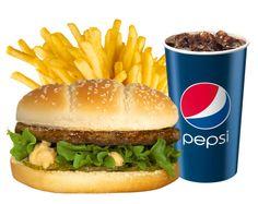 Scanburger-ateria, 4,90 € (2,90 €/hampurilainen). Norm. 7,90 € (4,90 €/hampurilainen). Scanburger / HK Makkarabaari, E-taso.