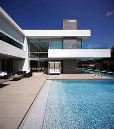 ISV Architects step pool and linear form