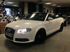 Audi A4 Cabriolet 2.0TDI 2009/09REG S Line Final Edition FULL SERVICE HISTORY