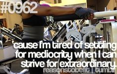 Reason to be fit