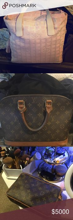 Chanel/Louis Vuitton Stuff I may consider trading to someone with a solid trading history. All items are authentic. CHANEL Bags Shoulder Bags