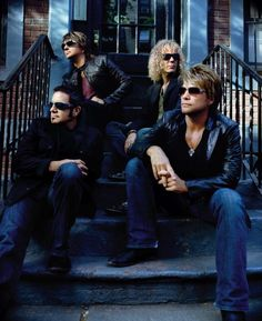 Bon Jovi...I'm from Jersey....what were you expecting? :-)