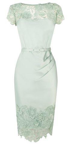 Mint pencil dress