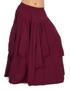 Dress Like A Pirate Renaissance Gypsy Thick Cotton Petal Skirt Renaissance Gypsy, Renaissance Skirt, Renaissance Festival Costumes, Medieval Gown, Renaissance Clothing, Renaissance Outfits, Medieval Outfits, Hippie Style Clothing, Hippie Outfits