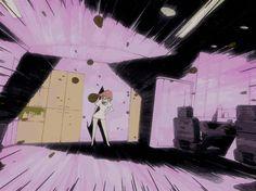 Angel Manga, Manga Anime, Metal Gear, Cyberpunk, Pixel Animation, Gifs, Anime Nerd, Animation Reference, Cool Animations