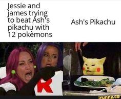 Jessie and james tryin tQ beat Ash S Ash's Pikachu pikachu Wlth 12 pokémons iFunny ) is part of Pokemon - Jessie and james tryin tQ beat Ash S Ash's Pikachu pikachu Wlth 12 pokémons popular memes on the site iFunny co Pokemon Comics, Pokemon Funny, Pokemon Pokemon, Pokemon Fusion, Pokemon James, Pokemon Jessie And James, Gumball, Equipe Rocket, Dankest Memes