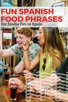 Visiting the local market and trying traditional recipes is one thing. But if you really want to take your food know-how to the next level in Spain, one of the best things to do is to try these Spanish food phrases! This guide is packed with some of our favorite fun phrases for foodies en español. Spanish Cuisine, Spanish Food, Learning Spanish, Spanish Phrases, Barcelona Travel, Foodie Travel, Tapas, Foodies, Spain