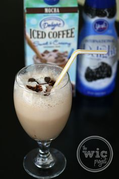 Check out this super easy recipe for a cool & refreshing Grasshopper Iced Mocha!ngredients  1 cup International Delight Iced Mocha  ¼ cup International Delight York Peppermint Patty Coffee Creamer  ½ cup ice (crushed)  ⅛ cup chocolate chips (chilled)  Whipped Cream  Chocolate Syrup      This content was created by and is copyright of The WiC Project (www.wicproject.com). Please include attribution if posting on any sites, message boards, or blogs.