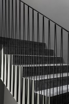 © João Morgado-- stairs.--- interesting railing for any balcony or stairway. You can see how easy it is to do, rather than straight  verticals.