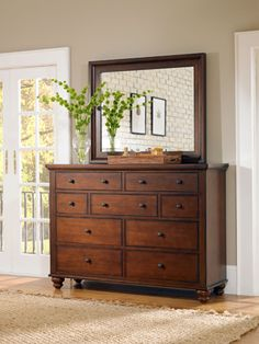 Aspen Home - Cambridge dresser and mirror
