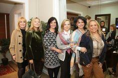 Eliane de Loyola e Silva, Cristina Nacli, Rita Cooper, Elvira Ramon, Sandra Formighieri e Júlia Guérios