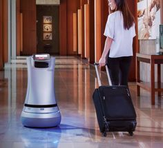 Hotel robot fetches toothpaste for you and even does room service! #hospitalityexperience #customerexperience #experiencedesign