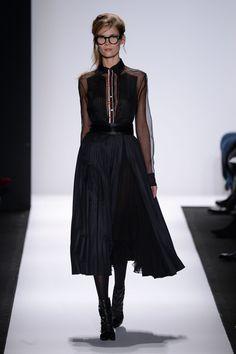 Carmen Marc Valvo at New York Fashion Week Fall 2015.