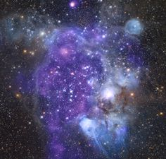 It's funny: all the stuff we can see in pictures of nebulas. Super Bubbles, Giant Bubbles, Spiral Galaxy, Star Cloud, Carina Nebula, Star Formation, Space Telescope, Light Year, Dark Matter