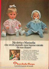 Nicoletta e Marinella pubblicità