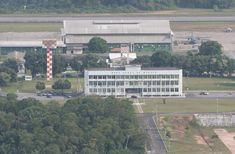 BASE AÉREA DE MANAUS – BAMN A Base Aérea de Manaus (BAMN), localizada à avenida Rodrigo Otávio, foi ativada em 31 de março de 1970.  Foto: Durango Duarte. Acervo: Fotos Aéreas Manaus – 2007.