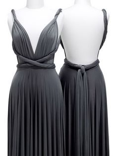 New Style Knee-Length Column Deep V-Neck,Strap Backless With Twist Drape Bridesmaid Dresses PDresses00484