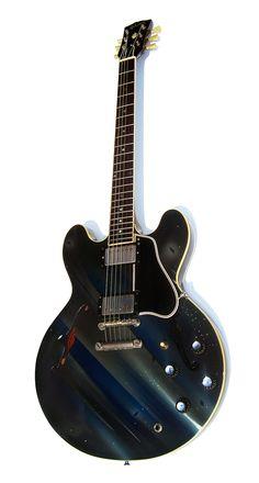 "Eric Johnson   '62 Gibson ES-335, ""Zap."""