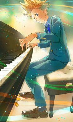 Aiza Takeshi [Shigatsu wa Kimi no Uso] ❤