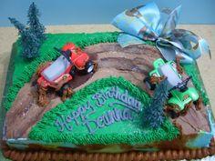four-wheeler cake