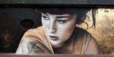 Trier, Germania: nuovo pezzo dello street artist francese Mantra.