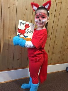Fox in Sox - a great costume idea for Book Week
