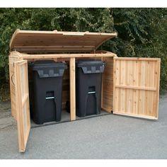 6u0027 X 3u0027 Oscar Waste Management Shed. Trash Can ...