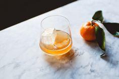 Nutty Old Fashioned. Rye, walnut liqueur, blood orange liqueur, brown ...