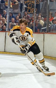 Bobby Orr - Hockey Player - back when I was a Bruins fan