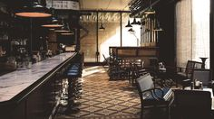 Dishoom pays homage to the Irani cafés and the food of all Bombay. Opening A Cafe, Dishoom, Restaurants, Bentwood Chairs, Small Corner, Best Places To Eat, Rest Of The World, Small Plates, Paris Travel