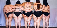 Body Confident, Plus-Size Women Pose Topless For Empowering Photos
