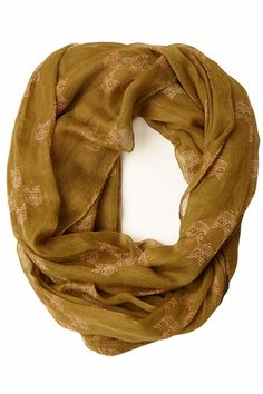 A Real Hoot Owl Infinity Scarf only $8.99