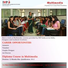 Fulfill your career goals with IWP's #DiplomaCourse in #Multimedia.