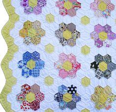 Grandmother's Flower Garden Quilt                                                                                                                                                                                 More
