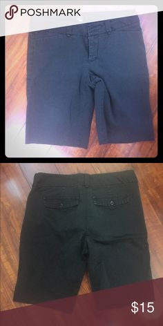 Double button stretch shorts Did Shorts