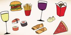 Pairing Wine With 8 Popular Take-Out Options #Wine #Food #pairing
