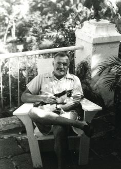 "Hemingway & Cat (My feline companion is polydactyl or a ""Hemingway Cat"")"