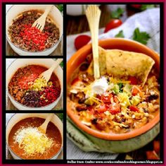 Dollar Store Crafter: Cheesy Taco Soup