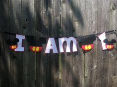 Mickey Mouse I am One Banner