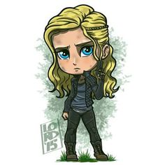 Clarke Griffin!!! Just finished powering through the first 2...